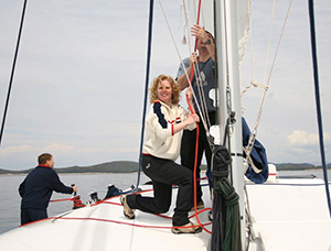 Skiperin-Frauentörn-Ausbildung