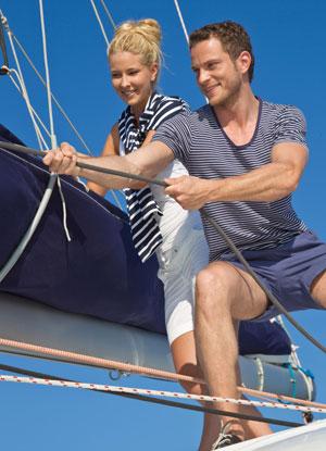 Skippertraining Segel setzen