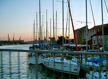 Hafen Trogir