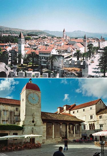 Trogir in Kroatien