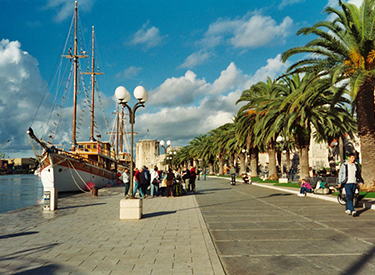 Trogir Promenade