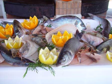 Gastronomie Vodice Kroatien