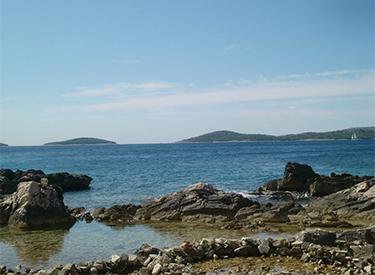 Meerblick Vodice Kroatien
