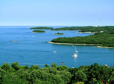 Küste von Vrsar
