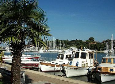 Vrsar Hafen
