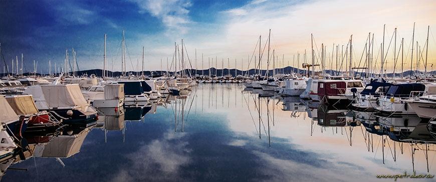 Marina Zadar in Kroatien