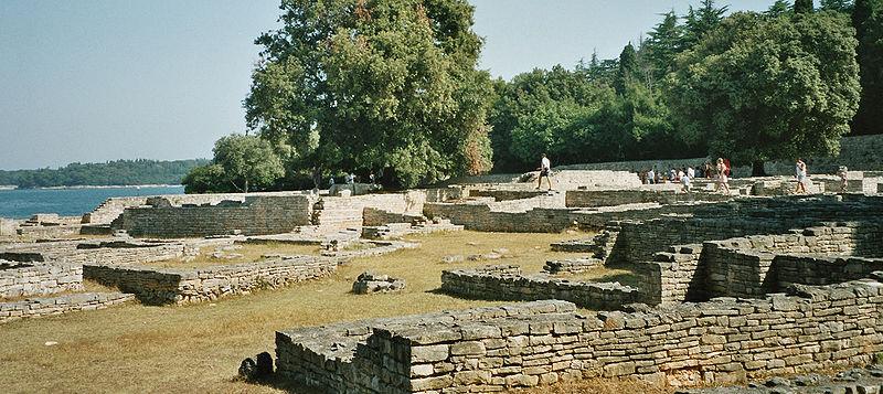 Nationalpark Brijuni Byzantinisches Kastell