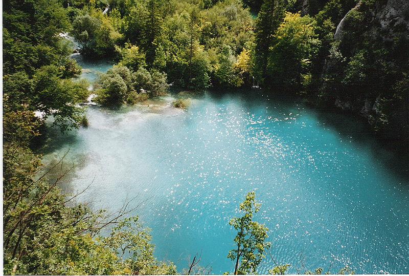 Großer Plitvicer See