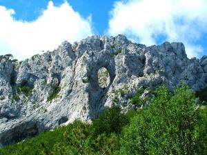 Nationalpark Paklencia Gesteinswand