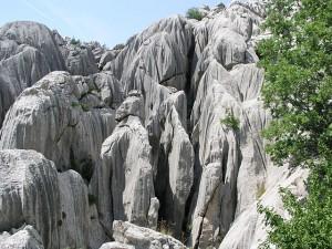 Nationalpark Paklencia große Felswand