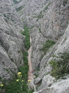 Nationalpark Paklencia von oben