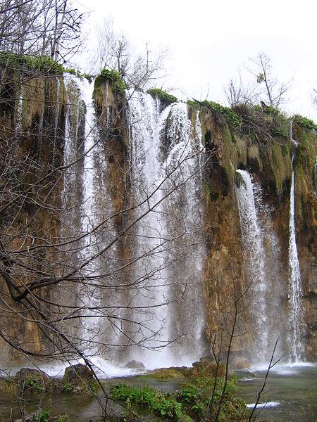 Plitvicer Seen Wasserfall