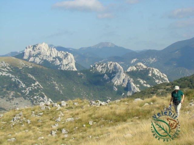 Naturpark Velebit Ausblick
