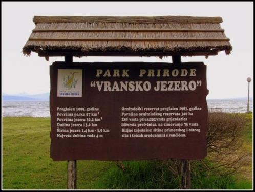 Park Priode Vransko Jezero