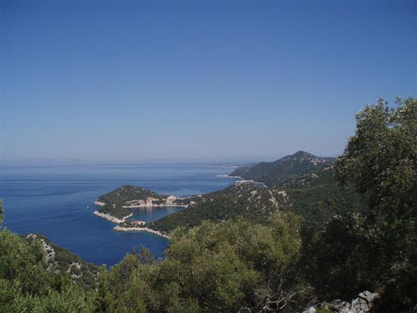 Küste Naturpark Lastovo Kroatien