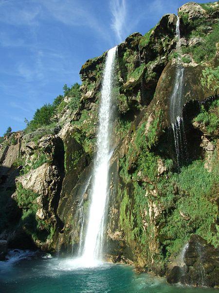 Kultur Kroatien-Wasserfall